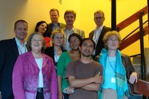 Treffen der Bundestagsdelegation mit Vertretern der Yasuní-AktivistInnen YAsunidos. Foto: orivat