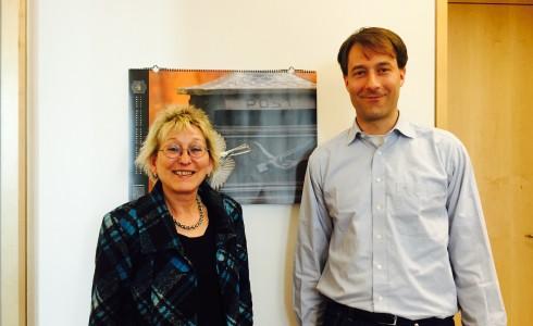 Eva und Dr. Diego Rybski vom Potsdam-Institut für Klimafolgenforschung (Foto: Privat)