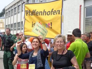 Aufstehen für eine offene Gesellschaft: Pfaffenhofen ist bunt! (Foto: Privat)