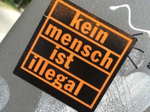 Dieser Slogan sollte zu denken geben (Foto: Privat)