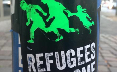 Flüchtlinge willkommen heissen, nicht kriminalisieren. (Foto: Privat)
