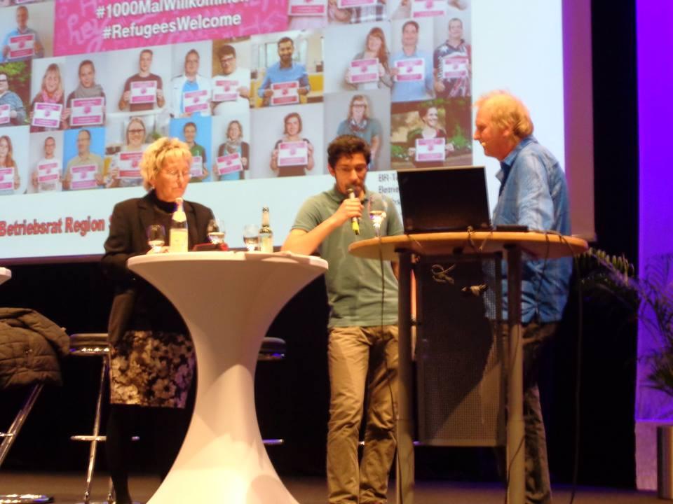 Betriebsversammlung Der Telekom Kundenservice Eva Bulling Schröter