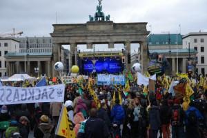 Abschluss der Klimademo in Berlin (Foto: Privat)