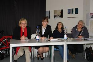 Eva Bulling-Schröter, Jennifer Rath, Elisabeth Wissel und Harald Gindra (von links, Foto: privat)