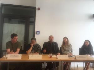 Der neue CGB-Geschäftführer Antonius Michelmann neben der Umweltikone und Trägerin des Alternativen Nobelpreises Vandana Shiva (Foto: Privat)