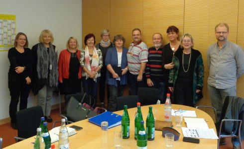 KommunalpolitikerInnen der LINKEN aus Spremberg im Bundestag (Foto: privat)