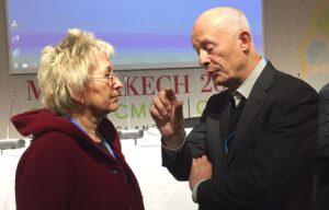 Im Gespräch mit Hans-Joachim Schellnhuber Foto: Privat