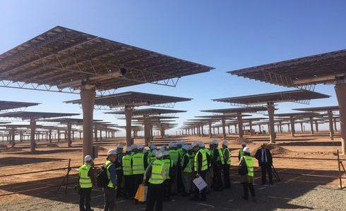 Besuch des Solarkraftwerkes in Ouarzazate. Foto: Privat