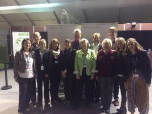 Gruppenfoto der ParlamentarierInnen mit Jugenddelegation. Foto: privat