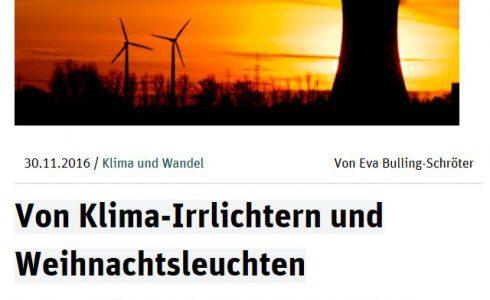 """Der ND-Blog """"Klima und Wandel"""" erscheint jeden Mittwoch. (Foto: Screenshot/ND)"""