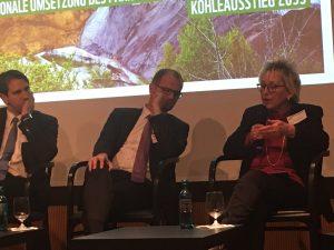 WWF-Podium zum Kohleausstieg (Foto: privat)