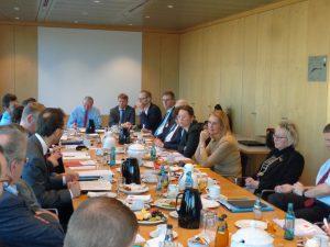 Im Parlament wird Mieterstrom diskutiert (Foto: privat)