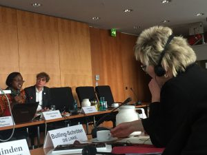 Chinma George aus Nigeria fordert mehr Klimaschutz und Klimafinanzierung von Deutschland (Foto: Privat)