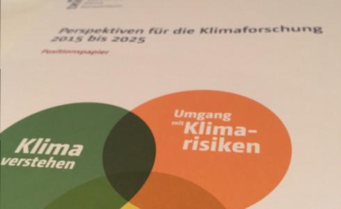 DDK-Positionspapier zeigt Perspektiven der Klimaforschung auf (Foto: Privat)