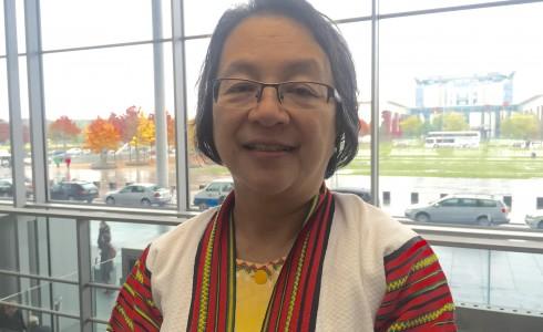 Die Phillipinin kämpft seit ihrer Jugend für Indigenenrechte (Foto: Privat)
