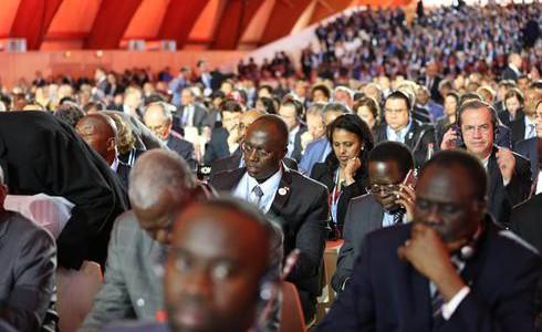 Nur 23 Prozent der Delegierten sind Frauan (Bild: UNClimatechange/Flickr)