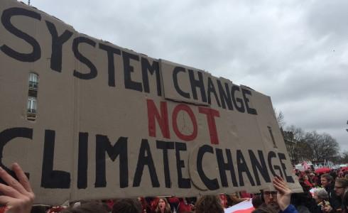 Demonstration für Klimagerechtigkeit in Paris am 11. Dezember 2015 (Foto: Privat)