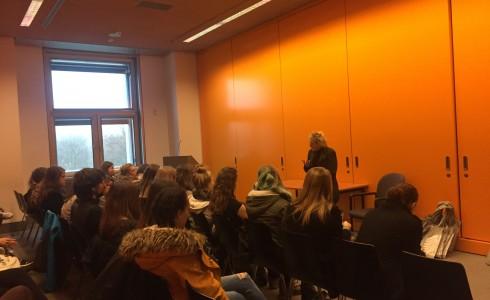 SchülerInnen aus Ingolstadt zu Besuch im Bundestag (Foto: Privat)