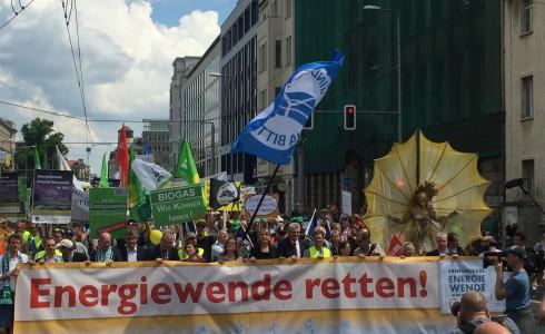 Ärger für Gabriel vorm Wirtschaftsministerium (Foto: Privat)