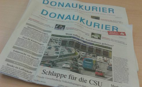 Der Donaukurier gehört jetzt den Passauer Neuen Nachrichten (Foto: Privat)