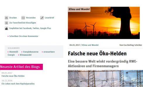 Eine bessere Welt winkt vordergründig RWE-Aktionären und Firmenmanagern (Foto: Screenshot/ND)