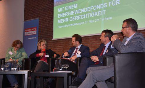 Politisches Podium beim Verbraucherzentrale Bundesverband (vzbv) (Foto: privat)